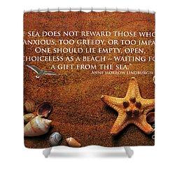 The Sea's Reward 2016 Shower Curtain