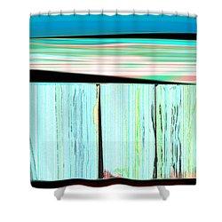 The Seawalls No. 1 Sunrise Shower Curtain