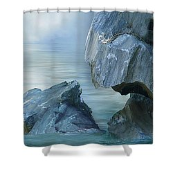 The Second Day Shower Curtain by Julie Rodriguez Jones