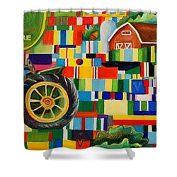 The Second Dream Shower Curtain