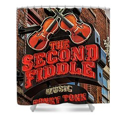 Shower Curtain featuring the photograph The Second Fiddle Nashville by Stephen Stookey