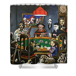 The Second Horror Game Shower Curtain