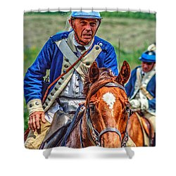 The Second Regiment Light Dragoons 004 Shower Curtain