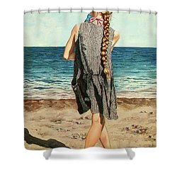 The Secret Beauty - La Belleza Secreta Shower Curtain
