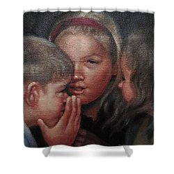 The Secret Shower Curtain by Janet McGrath