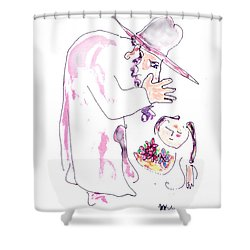 The Secret  Shower Curtain