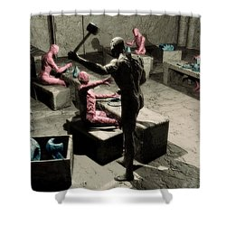 The Secret Price Of Savings Shower Curtain