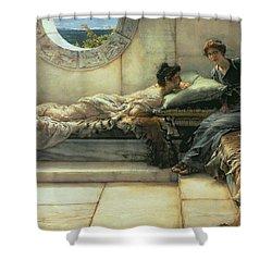The Secret Shower Curtain by Sir Lawrence Alma-Tadema