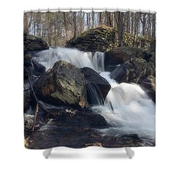 The Secret Waterfall 1 Shower Curtain