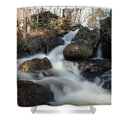 The Secret Waterfall 2 Shower Curtain