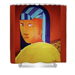 The Secrets Of Monticello  Sally Hemmings Shower Curtain