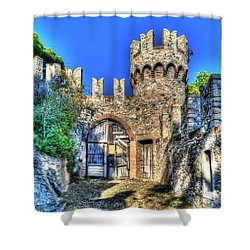 The Senator Castle - Il Castello Del Senatore Shower Curtain