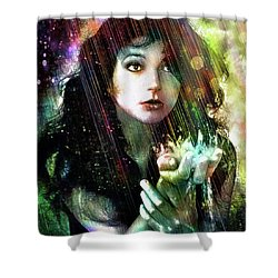 The Sensual World Shower Curtain