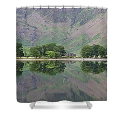 The Sentinals Shower Curtain by Stephen Taylor