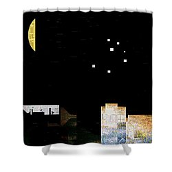 The Seven Sisters Shower Curtain by RC deWinter