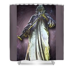 The Seventh Trumpet Shower Curtain