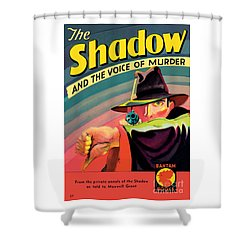 Shower Curtain featuring the painting The Shadow by George Rozen