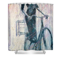 The She Wolf Shower Curtain