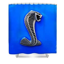 The Shelby Snake Shower Curtain by Paul Mashburn