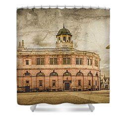 Oxford, England - The Sheldonian Theater Shower Curtain