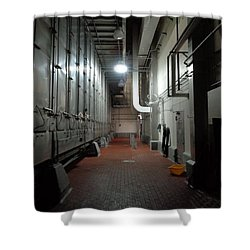 The Show Is Over Pt. II Shower Curtain