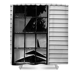 The Shredded Shade Shower Curtain