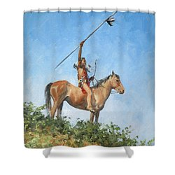 The Signal Shower Curtain