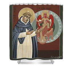 The Silence Of St Thomas Aquinas 097 Shower Curtain