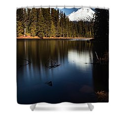 The Silence Of The Lake Shower Curtain