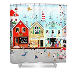 The Singing Bakers Shower Curtain