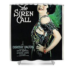 The Siren Call Shower Curtain by Paramount
