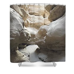 The Slot Shower Curtain