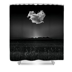 The Smallest Mountain Range Shower Curtain