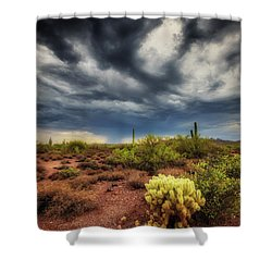Shower Curtain featuring the photograph The Smell Of Rain by Rick Furmanek