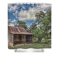 The Smoke House Shower Curtain