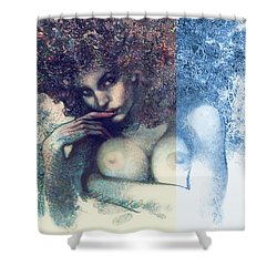 The Snowqueen Shower Curtain