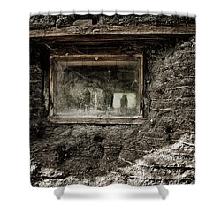 Shower Curtain featuring the photograph The Sod House by Brad Allen Fine Art