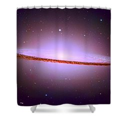 The Sombrero Galaxy M104 Shower Curtain by Don Hammond