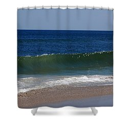 The Song Of The Ocean Shower Curtain by Susanne Van Hulst