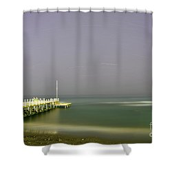 Shower Curtain featuring the photograph The Soul Of Interstellar by Erhan OZBIYIK