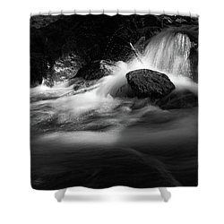 the sound of Ilse, Harz Shower Curtain by Andreas Levi