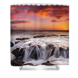 The Sound Of The Sea Shower Curtain