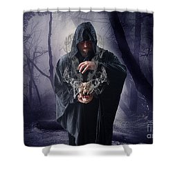 The Sounds Of Silence Shower Curtain