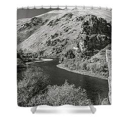 South Fork Boise River 3 Shower Curtain