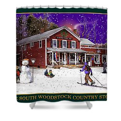 The South Woodstock Country Store Shower Curtain