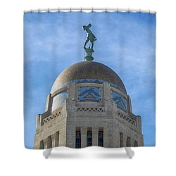 Shower Curtain featuring the photograph The Sower by Susan Rissi Tregoning
