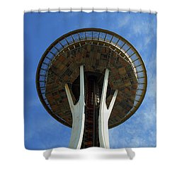 The Space Needle Shower Curtain