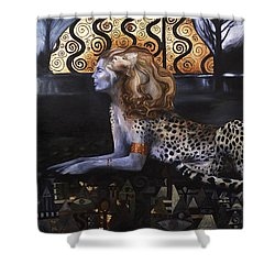 The Sphinx Shower Curtain