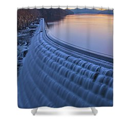 The Spillway At Dawn Shower Curtain