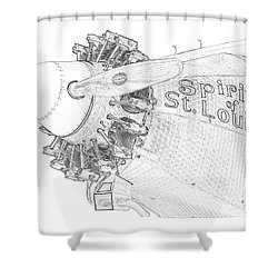 The Spirit Shower Curtain